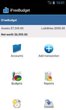 iFreeBudget Expense Tracker