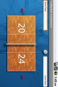 Volleyball Scoreboard Free