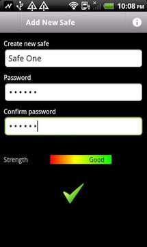 Password Safe & Data Vault