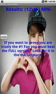 #1 Fan - Justin Bieber - LITE