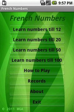 Learn French Numbers Free