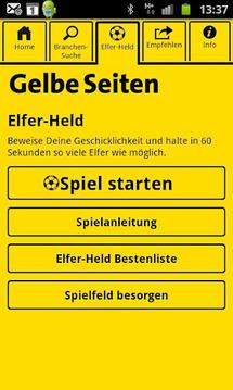 Fußball AR von Gelbe Seiten