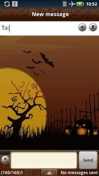Handcent Skin(Spooky Halloween