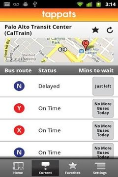 Tappats NFC for Stanford Bus