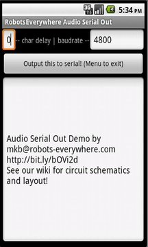 Audio Serial Out