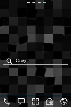 ICS Search Line for GO Widget