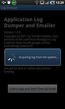 Log Dumper and Emailer