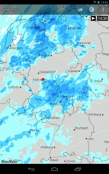 RegenRadar von WetterOnline