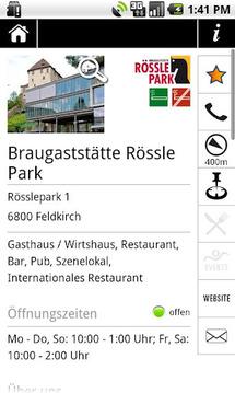 MyRestaurant free:Events&Menus