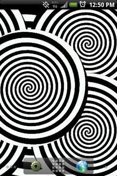 Hypnotic Spirals Demo Live