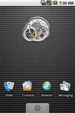 Tourbillon Clock Widget 2x2