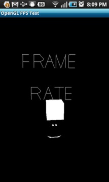 OpenGL Frame Rate Test