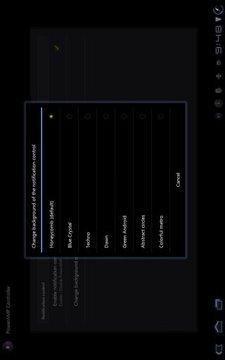 PowerAMP Status Bar Controller