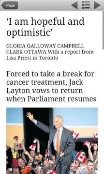 The Globe and Mail's Globe2Go