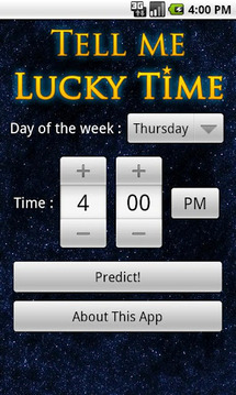 Tell Me Lucky Time