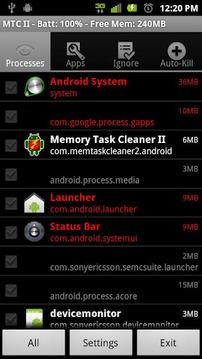 内存任务管理器 Memory Task Cleaner II v1.9