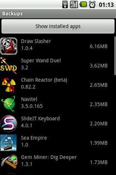 手机容量部件 Free memory widget