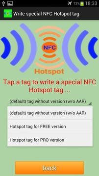NFC Hotspot FREE