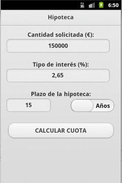 Calculadora Hipoteca