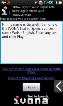 IVONA Gwyneth UK English beta