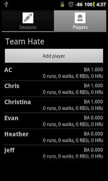 Softball Stats Pro