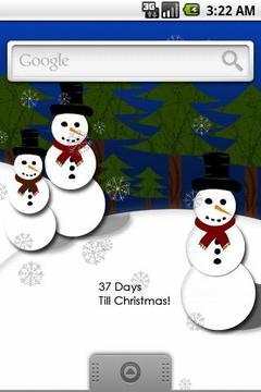 Christmas Countdown Live Wall