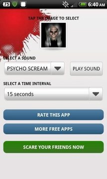 Prank Your Friends Scare App