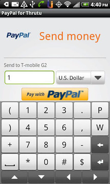 PayPal for Thrutu