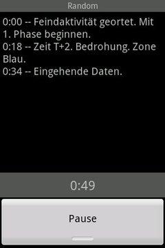Space Alert Generator German