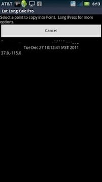 Lat Long Calc Pro SMS Plugin