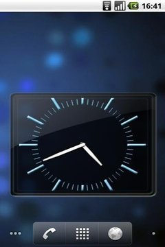 SWAP 4x3 Analog Clock Widget