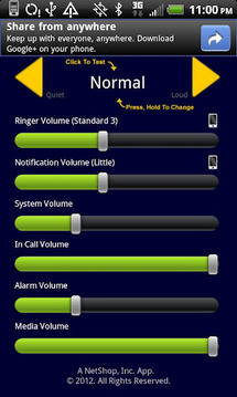 Volume Selector Free