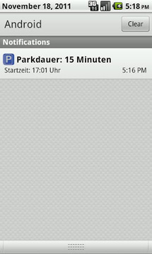 Parkzone Dialer f. Mobile City