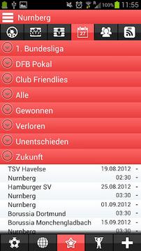 1。 FC纽伦堡应用