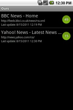 Ours RSS Reader