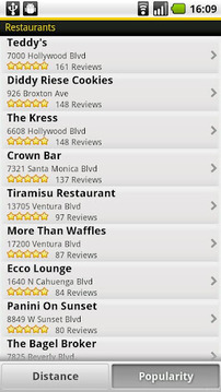 Yellow Pages for Android
