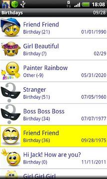 Birthdays [free]