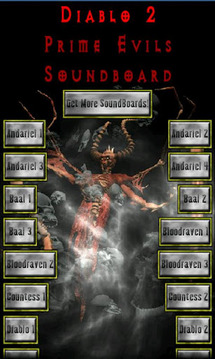 Diablo 2 Boss Sound Board