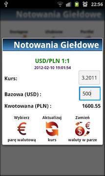 Notowania Giełdowe GPW +Widget