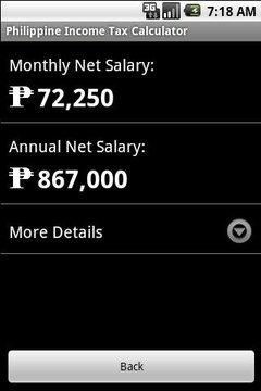 Phil. Income Tax Calculator