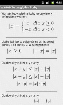 Tablice Maturalne - Matematyka