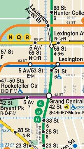 纽约地铁路线图下载图片