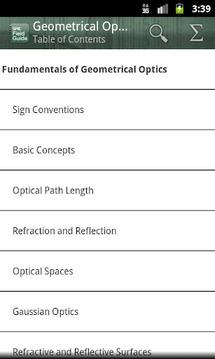 SPIE Geometrical Optics Lite