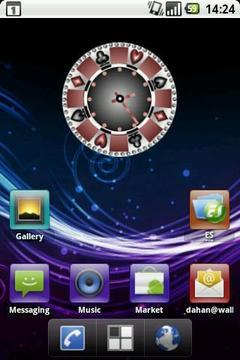 Casino Clock