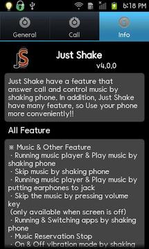 Just Shake Free