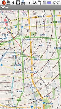 同心圆地图