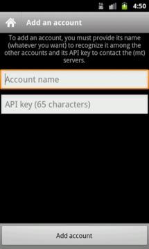 (mt) AccountCenter