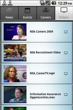 NSA Career Links