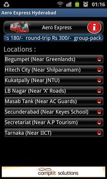 Pushpak Hyderabad