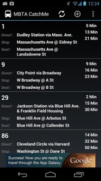 MBTA - Catch me (live alerts)